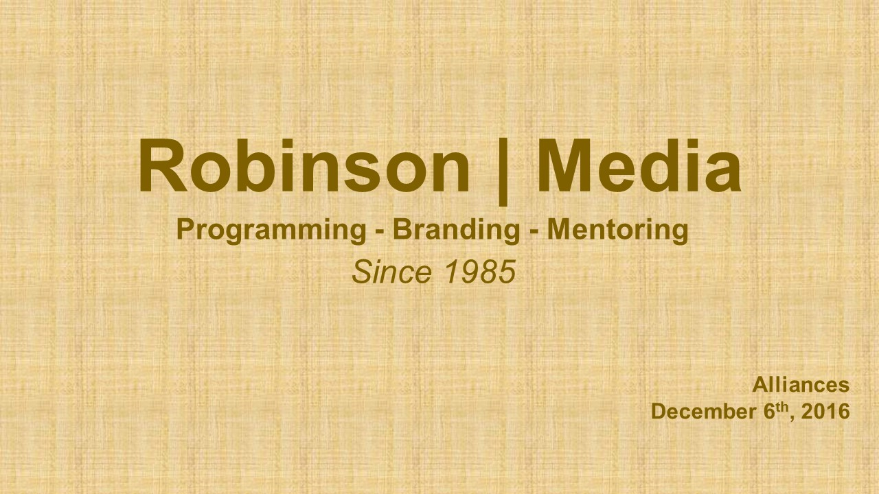 robinsonmediaalliances